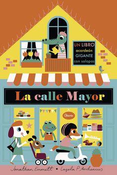 ¡Recorre las tiendas más emblemáticas de la calle Mayor y conoce a sus divertidos personajes! Family Guy, Kids Rugs, Movie Posters, Fictional Characters, Editorial, Books To Read, Accordion Book, Pole Star, Kid Friendly Rugs
