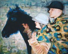 OIL PAINTINGS FROM AMAZING FINE ART LONDON Visit our website: www.amazingfineartlondon.com  Title: LES ENFANTS DE MA SOEUR Artist: Dora Bard  We are shipping worldwide.