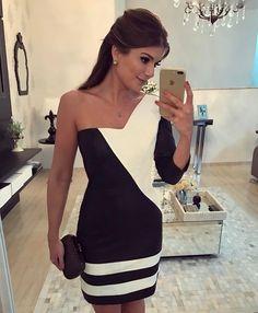 """81e1277cc6 Blog Trend Alert on Instagram  """"Definição de p b perfeito nesse vestido  inteiro de couro da  desnude 😱😱 Tô muito apaixonada no modelo"""