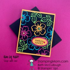 Thank You Card Design, Thank You Cards, Mary Fish, Stampin Pretty, Jpg, Paper Pumpkin, Flower Cards, Stampin Up Cards, Making Ideas