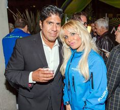 Gordon Vasquez, Sabrina A. Parisi attending the 2015 American Film Market (AFM) - Kitesurfing TV Launch Party with Breaking Glass Pictures held at the Lounge at 1733 Ocean Avenue in Santa Monica, CA, USA on 11/08/2015 | GVA-000394