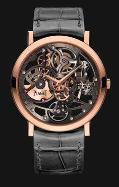 Piaget Altiplano Skeleton 1200S Ultra-Thin. Well if I had $60,000 I would love to get Derek this. He would love the technical look.