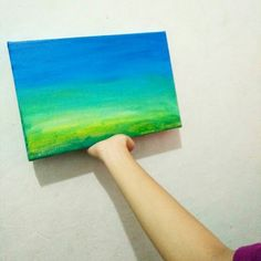 Earth background. Play with Acrylic colours