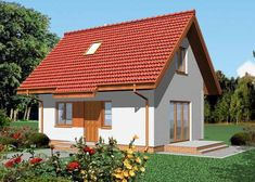 our future, small but comfy home Design Exterior, Interior And Exterior, Design Case, Small House Plans, Home Fashion, Interior Inspiration, Construction, Outdoor Structures, House Design