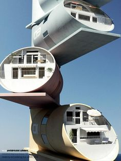 Cylinder Homes, France | Incredible Pictures