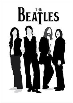 The Beatles | Posters Minimalistas