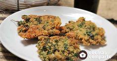 Tortitas de amaranto hecha por Zyanya García. Deliciosas tortitas vegetarianas ideales para una comida ligera acompañadas de ensalada.