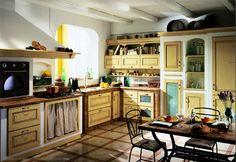 Cortinillas para ocultar los accesorios de cocina