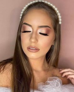 Edgy Makeup, Formal Makeup, High Fashion Makeup, Eye Makeup Art, Nude Makeup, Glamorous Makeup, Beauty Makeup, Hair Makeup, Wedding Eye Makeup