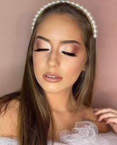 Formal Makeup, Edgy Makeup, Makeup Eye Looks, Wedding Makeup Looks, Nude Makeup, Glamorous Makeup, Glowy Makeup, Bridal Hair And Makeup, Wedding Hair And Makeup