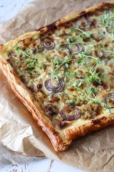 Fantastisk Lækker Cremet Champignontærte – One Kitchen – A Thousand Ideas