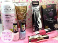 my first beauty swap on JustJulie