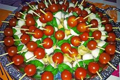 Cherry, Appetizers, Menu, Fruit, Skewers, One Pot Pasta, Savory Snacks, Food Portions, Easy Meals
