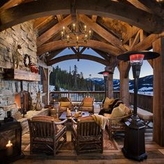 Patio Cabin Design, Pictures, Remodel, Decor and Ideas - page 13