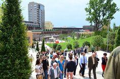 Centrul urbanistic si comercial Palas a fost inaugurat cu mare fast, joi, 31 mai 2012.