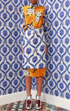 Tata Naka Fall/Winter 2014 Trunkshow Look 30 on Moda Operandi