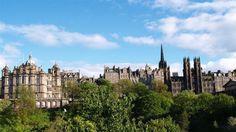 Edinburgh, Scotland architecture-home