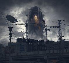 industrial5, Petr Morozoff on ArtStation at https://www.artstation.com/artwork/industrial5