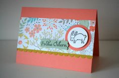 Stampin Up Forest friends, Ostern/Eastern