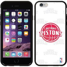 Detroit Pistons Repeating Design on Apple iPhone 6 Switchback Case by Coveroo