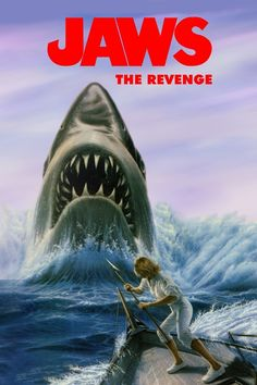 Jaws: The Revenge (IV) - Review: It is the Christmas season in Amity. Ellen Brody and her son, Sean are all festive. Ellen… #Movies #Movie