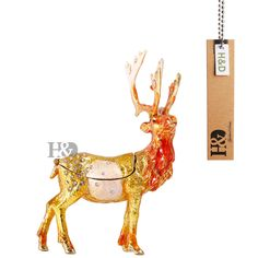Find More Figurines & Miniatures Information about 4.2*3.1 Inch Metal Figure Deer Trinket Box Ring Holder Jewelry Stands Storage Box Wedding Jewelry Case Souvenirs Gift Crafts,High Quality craft favor boxes,China box wifi Suppliers, Cheap craft wood box from H&D Crystal 1 on Aliexpress.com