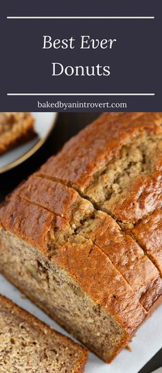 It's honestly the best banana bread ever! Brown butter, buttermilk, and roasted bananas give this bread the ultimate flavor and texture. It can easily be enjoyed in place of dessert or for breakfast. It also makes a great snack between meals. via @introvertbaker