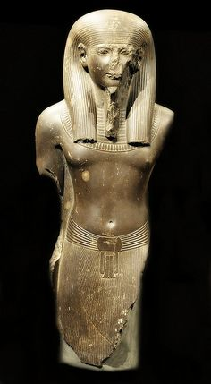 New Kingdom, 19th Dynasty, 1295-1186 BCE  Probably the area around Memphis, Lower Egypt. This statue is the only known depiction of the god Imi-khent-wer (sometimes associated with the creator god Ptah).