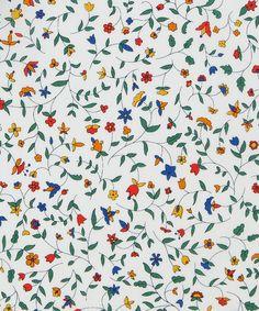 Liberty Art Fabrics Cathy B Tana Lawn Cotton | Fabric | Liberty.co.uk