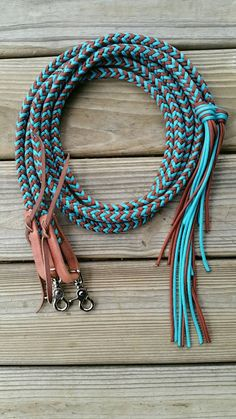 Split Riding Reins by KnotsByK on Etsy