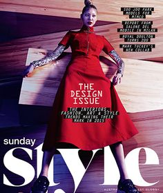 SUNDAY STYLE (THE DESIGN ISSUE) - mimzine by Mimco Pty Ltd