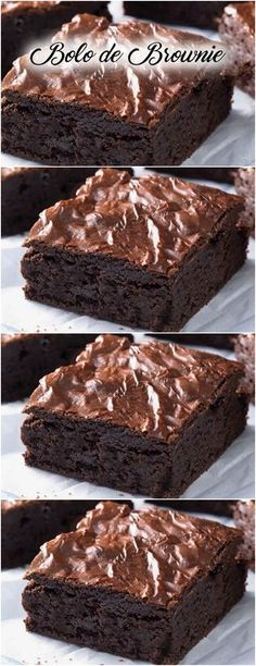 Discover recipes, home ideas, style inspiration and other ideas to try. Donut Recipes, Brownie Recipes, Cake Recipes, Snack Recipes, Dessert Recipes, Snacks, Bean Brownies, Chocolate Brownies, Bolo Chocolate