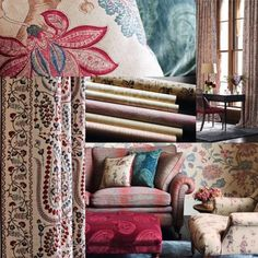 Zoffanys Beautiful Fabrics And Wallpapers Available At Milners Of Leyburn