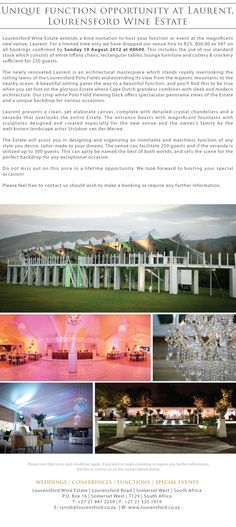Lourensford - great wedding venue in Somerset West Cape Town Wedding Venues, Somerset West, Event Management Company, Farms, Wedding Planner, Backdrops, Wine, Weddings, Mansions