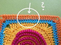 Heute möchte ich euch gerne zeigen, wie man beim   Häkeln einen nahezu unsichtbaren Reihenübergang   (also Reihenstart und - e...