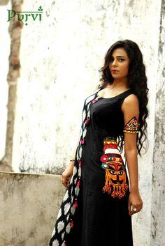 Different types of kurtis designs - ArtsyCraftsyDad Kurta Designs Women, Blouse Designs, Indian Attire, Indian Wear, Indian Designer Outfits, Designer Dresses, Indian Dresses, Indian Outfits, Navratri Dress