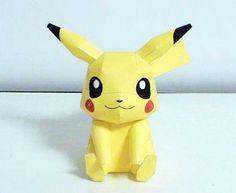 Pikachu Paper Craft