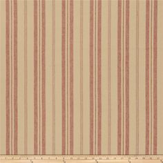 French General Biarritz Linen Rural Red from @fabricdotcom  This beautiful linen blend fabric has a rustic appearance and feel. Perfect for draperies, valences, toss pillows, and light upholstery projects.