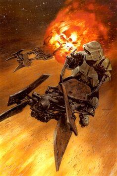 Star Wars Art  by Dave Dorman