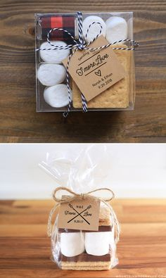 Instantly download these printable S'more Kit Tags, perfect for a rustic wedding, baby shower, or your next bonfire! MountainModernLife.com