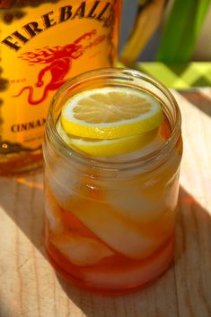 Fireball Tart: Mixing Fireball Whisky with Pomegranate Liqueur (so good!) #FireballWhisky