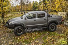 LINE-X - Защитные покрытия - Toyota Hilux Off-Road LINE-X