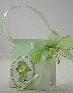 Gorgeous Party Favor Handmade Box