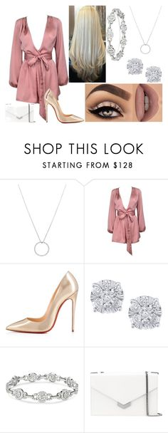 """""""Untitled #152"""" by xoxojay1 on Polyvore featuring Roberto Coin, Lime Crime, Christian Louboutin, Effy Jewelry and Jimmy Choo"""