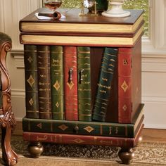 High Quality The Lord Byron TROMPE Lu0027OEIL WOODEN SIDE TABLE. Single Bottom Drawer. Double Awesome Design