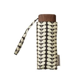 Bi-Colour Stem Tiny Umbrella / Orla Kiely.  So Damn Adorable!  Damn you Orla Kiely!!  I can't even afford your umbrellas! F. $52