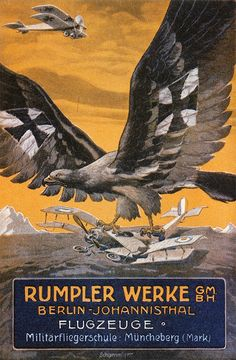 Rumpler, originally known for its popular Taube monoplanes, built hundreds of reconnaissance biplanes during World War I