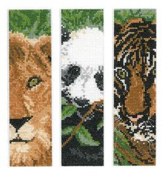 Wild Animal Bookmarks (chart)