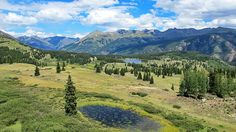 Molas Lake & Molas Pass, between Durango and Silverton