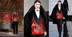 Vestido de la colección Otoño – Invierno 2011 de Ralph Lauren.